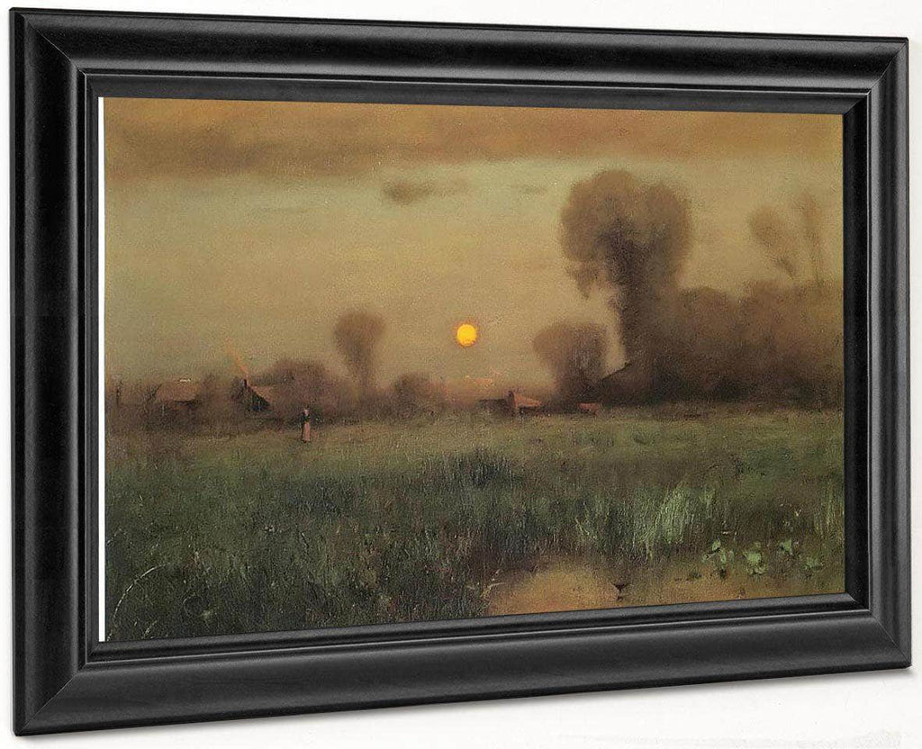 Harvest Moon By George Inness