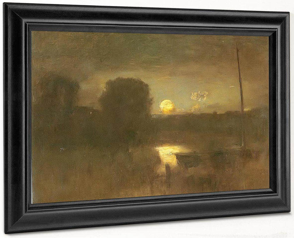 Moonrise 1888 By George Inness