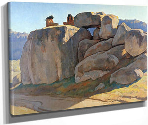 Neolithic Afternoon By Maynard Dixon