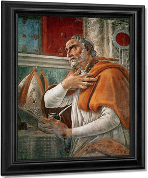 St. Augustine In His Cell By Sandro Botticelli