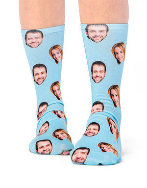 Couple Face Socks