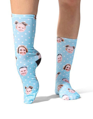 Family Spotty Face Socks