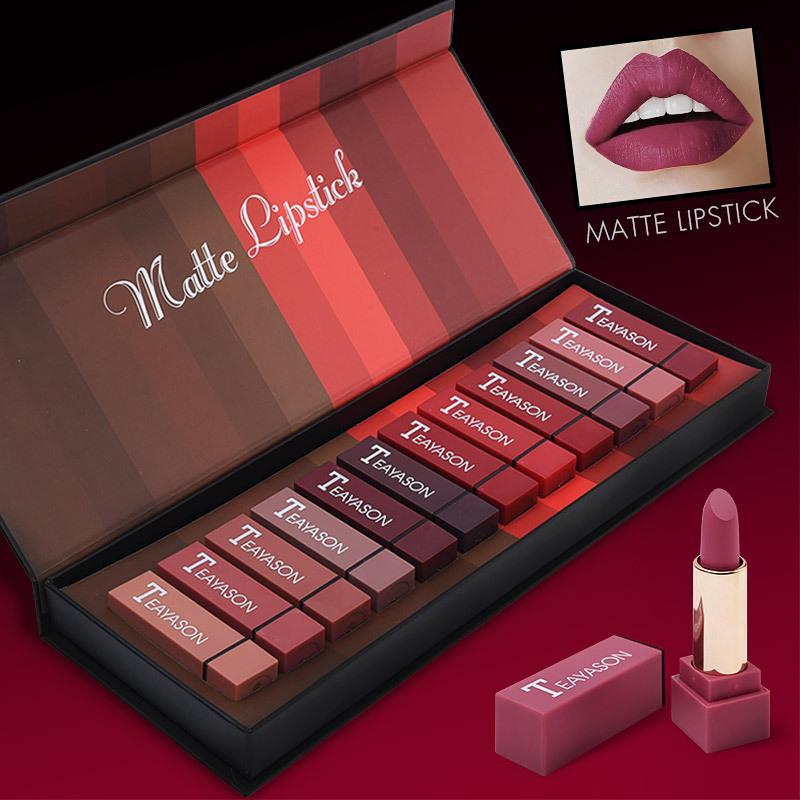 Fog Matte Lipstick Set - 12 Pieces (Huge Sale) Timeless Matter