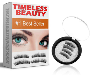 Premium Magnetic Lashes - Easy To Apply Magnetic False Eyelashes Latest Magnetic Eyelashes Timeless Matter TimelessBeauty