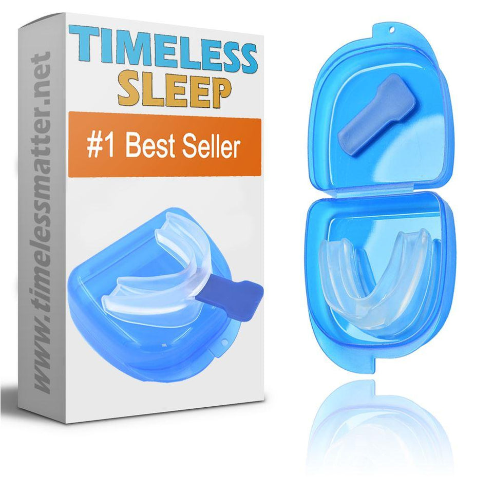 Sleep Apnea Mouthpiece - Moldable Anti Snoring Mouth Guard Snore Guard Timeless Matter