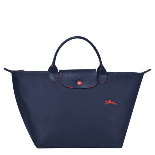 Le Pliage Club Bolso de Mano M Azul Marino - Luxury Avenue Boutique