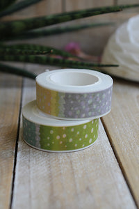 Washi tape, topitos pastel - Pretty Things Store