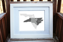 Custom Art Print - Multi-state or country print --show all of your homes! Custom Family Art