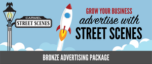 4) Street Scenes Bronze Advertising Package