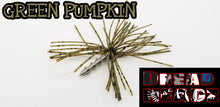 Green Pumpkin 3/32 Dread Head Weights