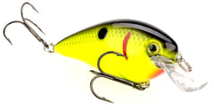 Strike King Lures Square Bill Crankbait [Black Back / Chartreuse]