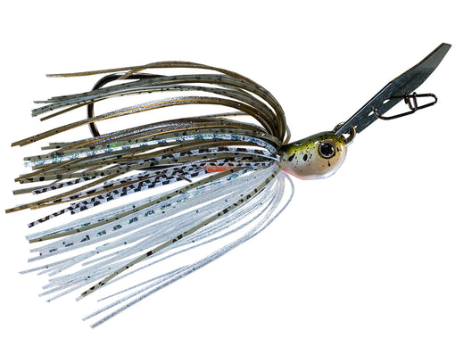 Z-Man Chatterbait Jack Hammer [3/8 oz Green Pumpkin Shad]