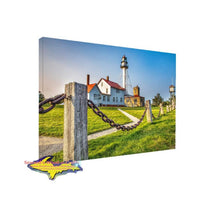 Michigan Lighthouse Photo Whitefish Point best buy on canvas prints