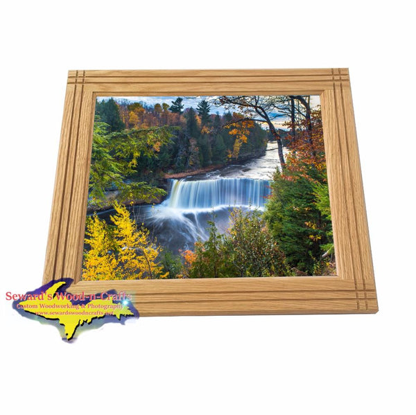 Autumn Colors Michigan's Upper Peninsula Upper Tahquamenon Falls Framed Picture