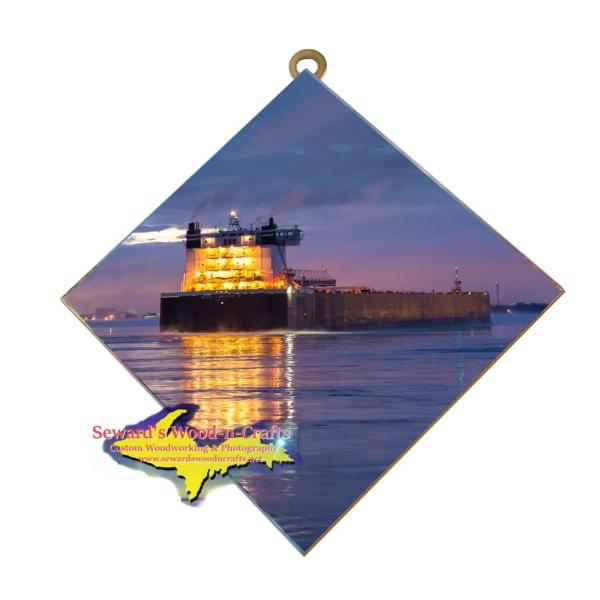 Great Lakes Freighter Walter McCarthy Jr Best Photo Tiles For Boat Fans