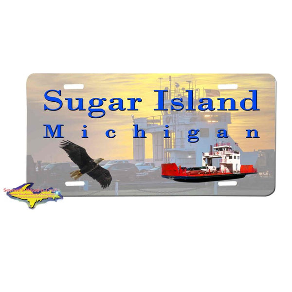 Michigan License Plates Sugar Island Michigan License Plate