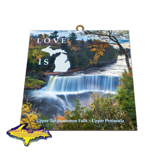 Upper Tahquamenon Falls Autumn Colors Best Photo Tiles Michigan Made Gifts