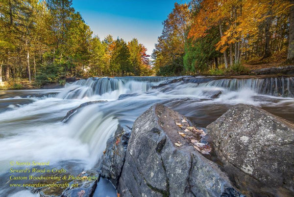 Bond Waterfalls Michigan's Upper Peninsula Photo Images For Sale Great Prices
