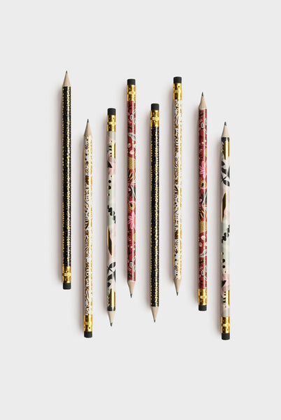 Rifle Paper Co - Pencil Set of 12 - Folk