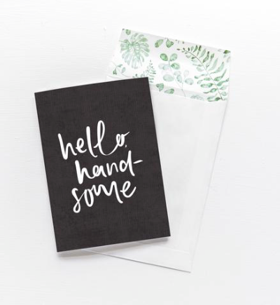 Emma Kate Co - Greeting Card - Hello Handsome