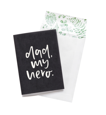 Emma Kate Co - Greeting Card - Dad, My Hero