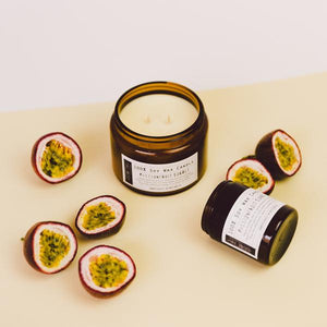 Electric Eyes Soy Candles - Passionfruit Sorbet