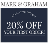 Mark and Graham 20% off Entire Purchase—Email Delivery