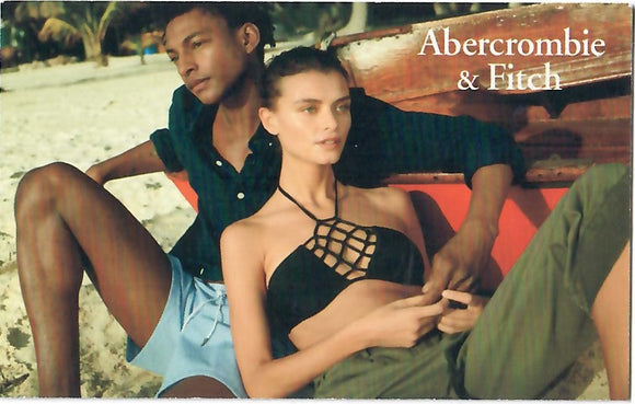 Abercrombie and Fitch 25% off $75—Email Delivery
