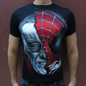 Stan Lee signed t-shirt SugarCane1977