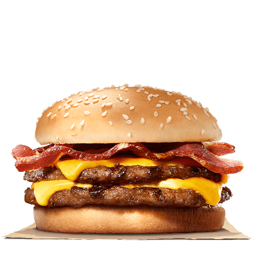 Bacon Double Cheeseburger Meal - Deliver Me Home Delivery