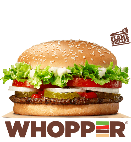 Whopper Burger Meal