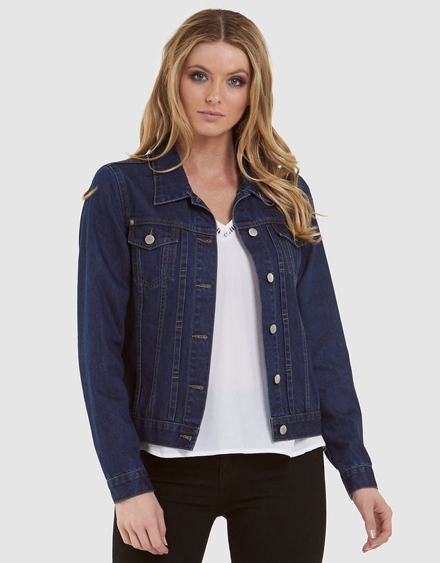 Amelius Vintage Denim Jacket - Dark Denim