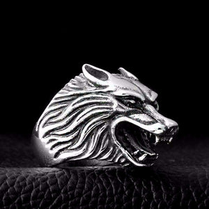 Bague de Protection De Loup - L'univers-karma