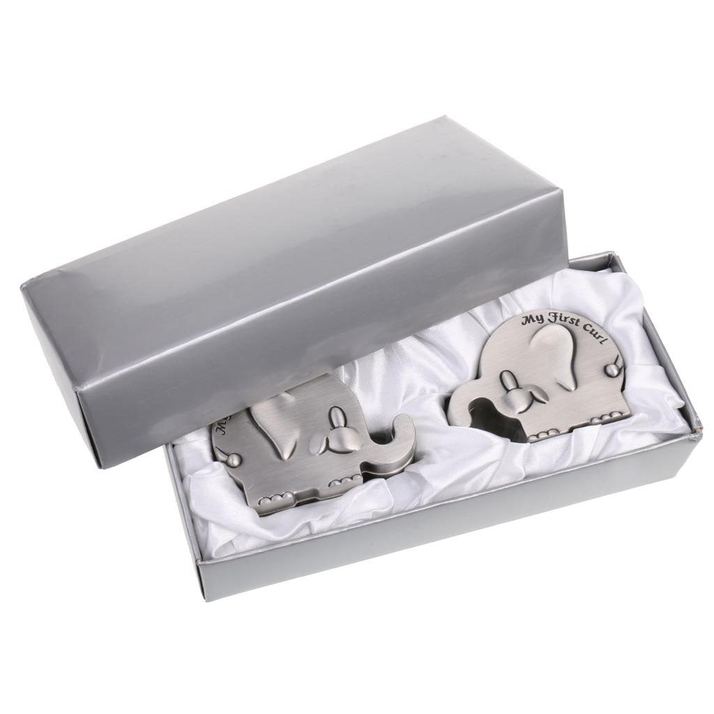 My First Tooth and Curl Keepsake Box - Elephant
