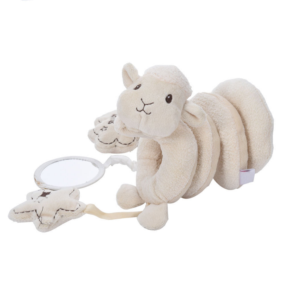 Spiral Sheep Car Seat and Cot Soft Toy