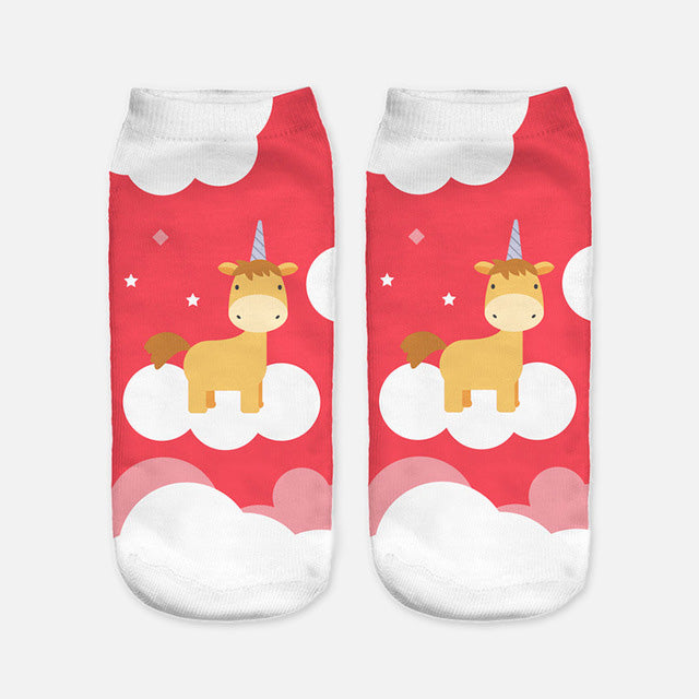 Meow Meow Castle3D Print SocksBaby - Meow Meow Castle