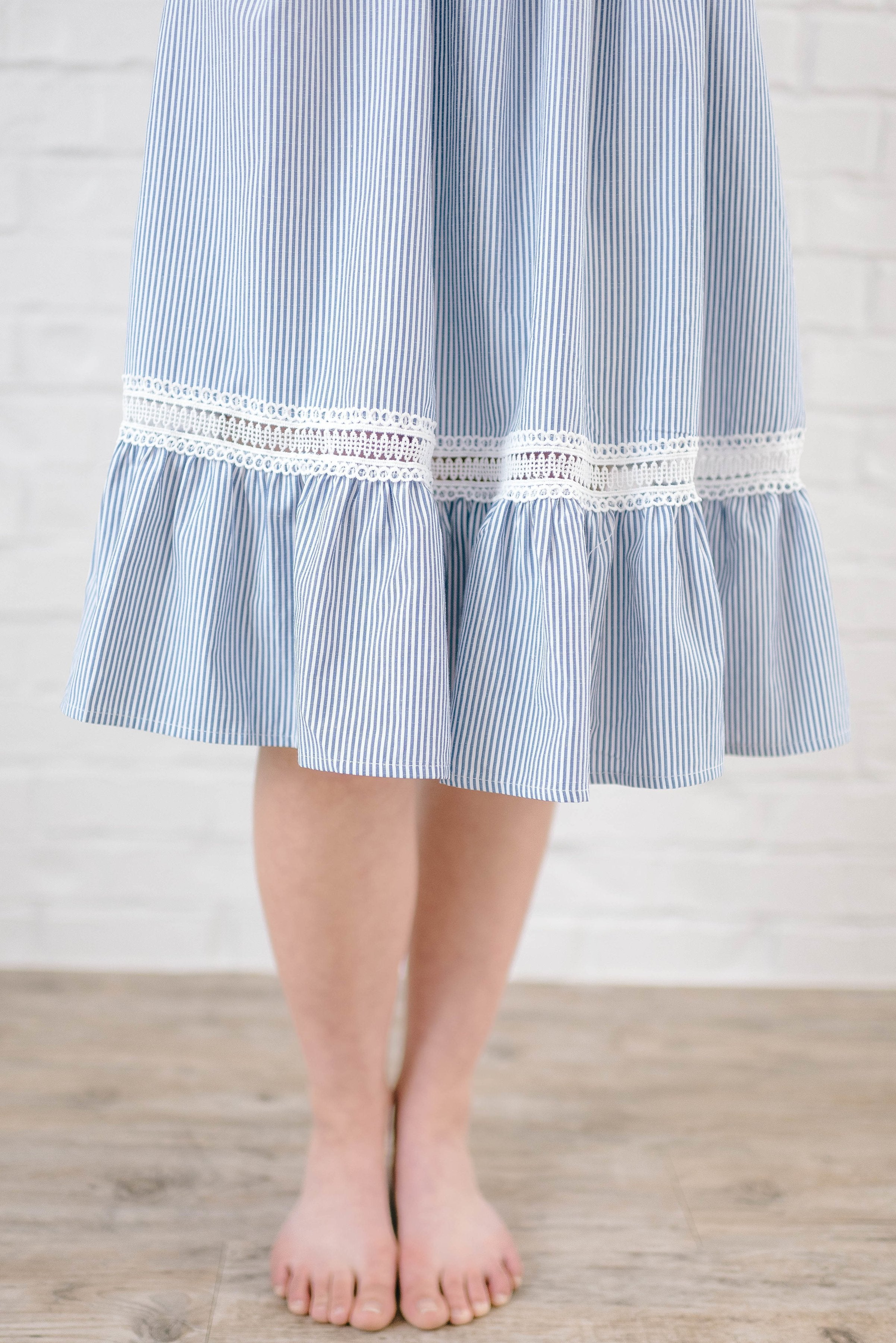 Kimberly Striped Sun Dress