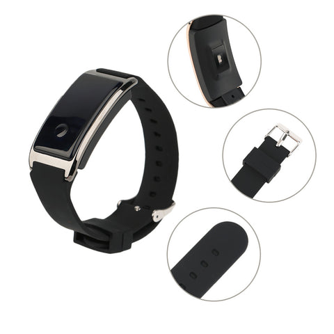 OXA MD8 0.66 Inch OLED Display Waterproof IP68 Smart Bracelet Heart Rate Monitoring Wristband