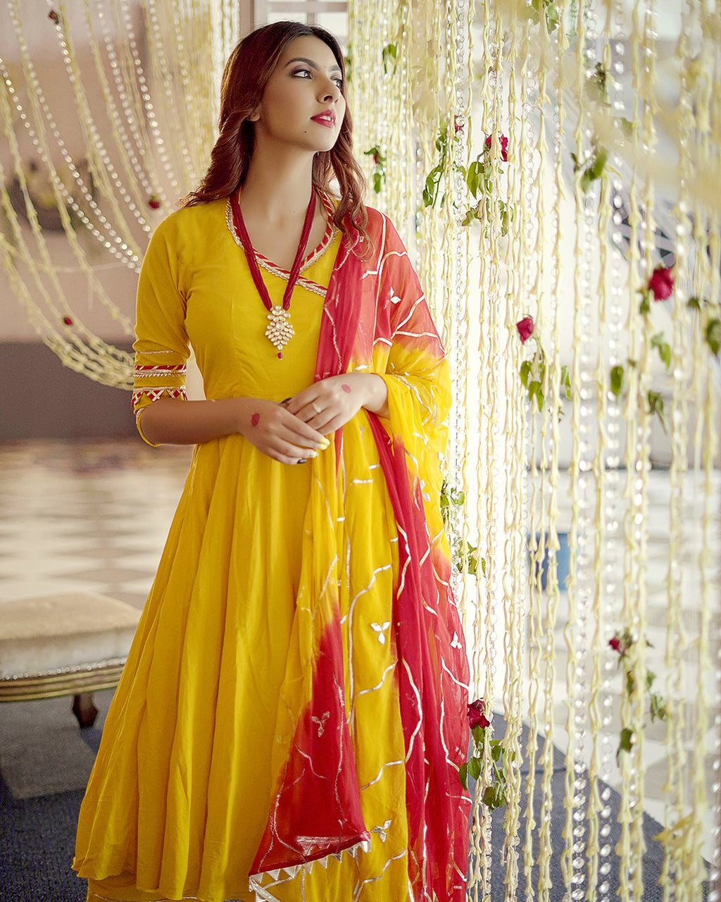 Royal Yellow Gotapatti Suit set