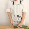 Image of Spoon Pattern Working Apron Kitchen - Gidli