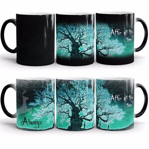Temperature Sensitive Color-Changing Mug - Gidli