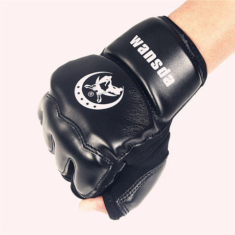 Half Fingers Boxing Gloves Protector - Gidli