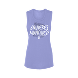 """Quieres Munchies"" Festival Tank Para Mujer"