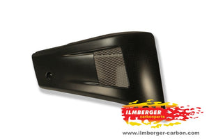 ILMBERGER Carbon Fiber Bellypan Right Side 2011-2012 Ducati Diavel