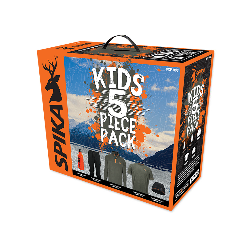 SPIKA KIDS 5 PIECE PACK BOX - 2