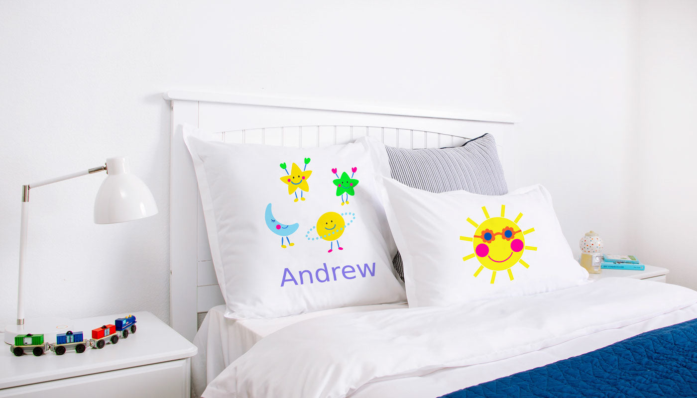 Astro - Personalized Kids Pillowcase Collection-Di Lewis