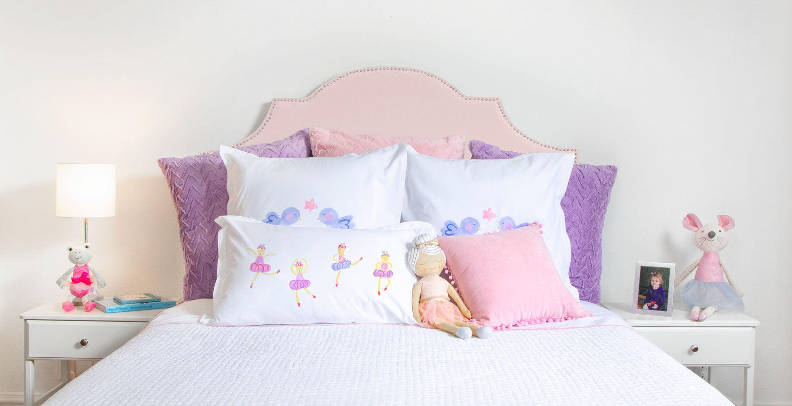 Ballet Royale - Personalized Kids Pillowcase Collection-Di Lewis