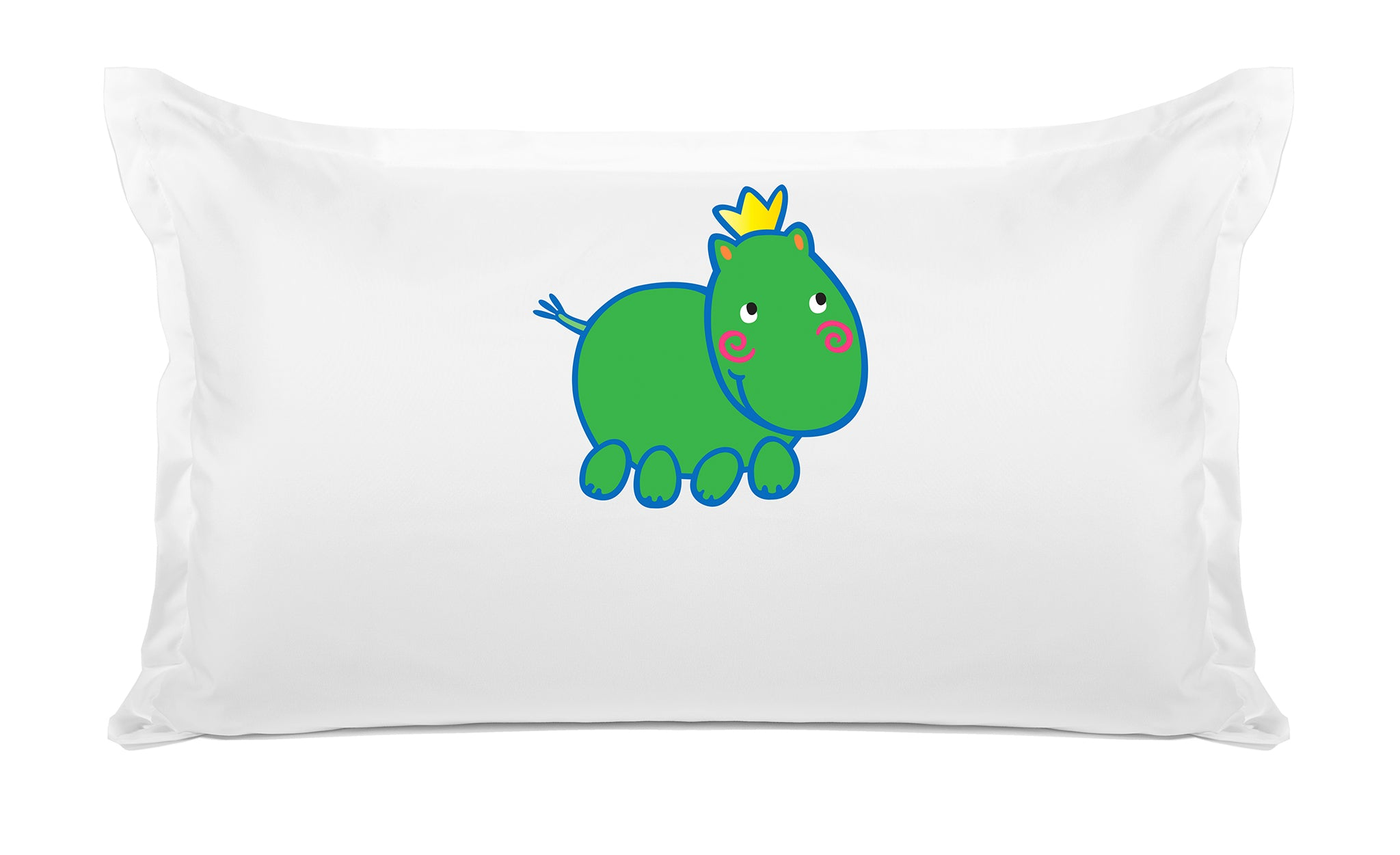 Harry Hippo - Personalized Kids Pillowcase Collection-Di Lewis