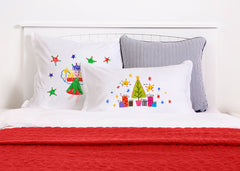 Peace And Joy - Kids Personalized Pillowcase Collection-Di Lewis