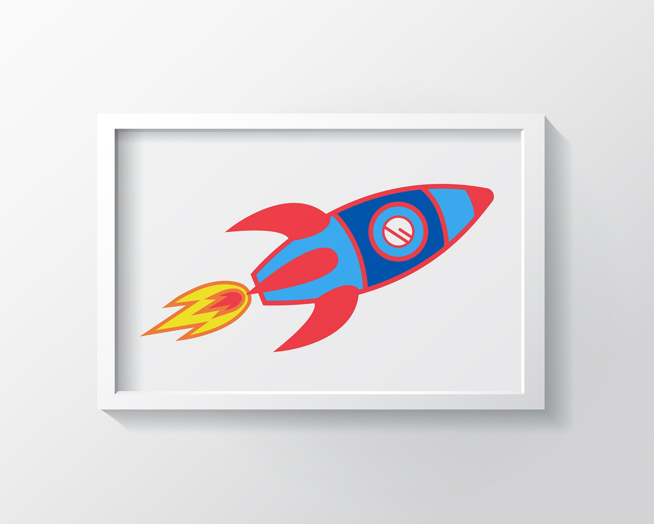 Take Me To The Moon Art Print - Kids Wall Art Collection-Di Lewis